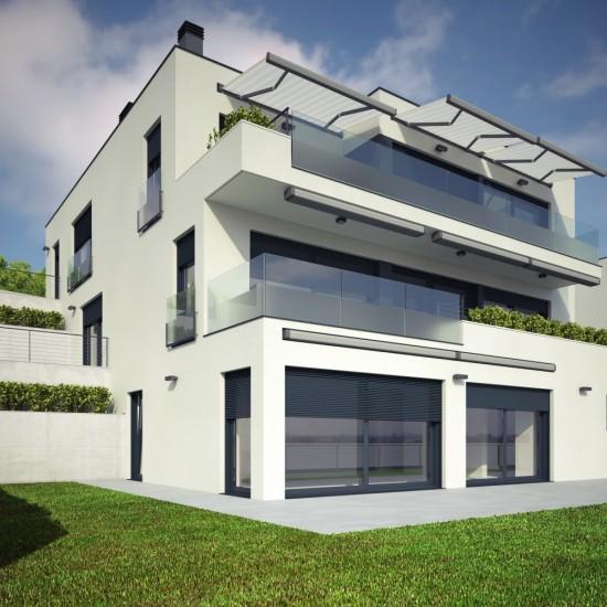 3 Mehrfamilienhäuser