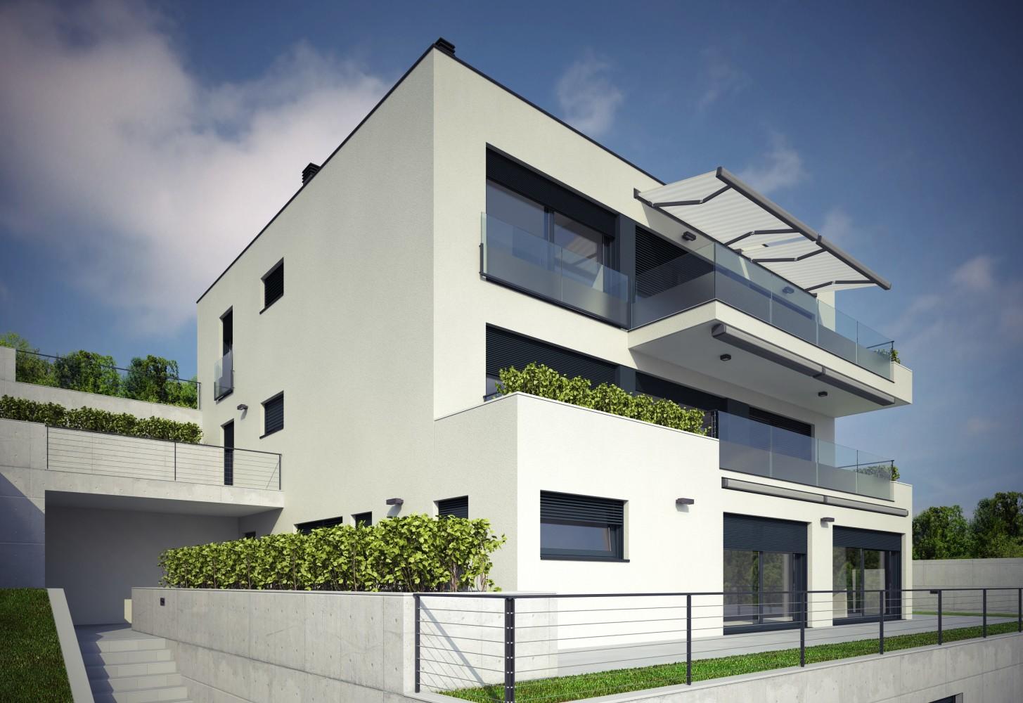Tri stambene građevine