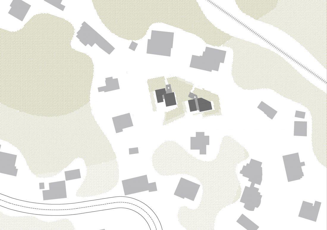 Dvije stambene građevine