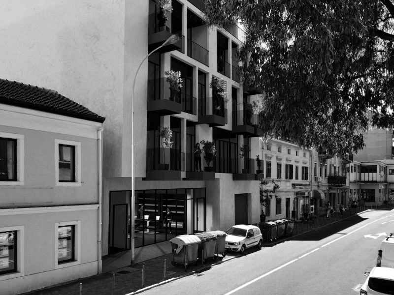 Wohn- und Geschäftshaus T