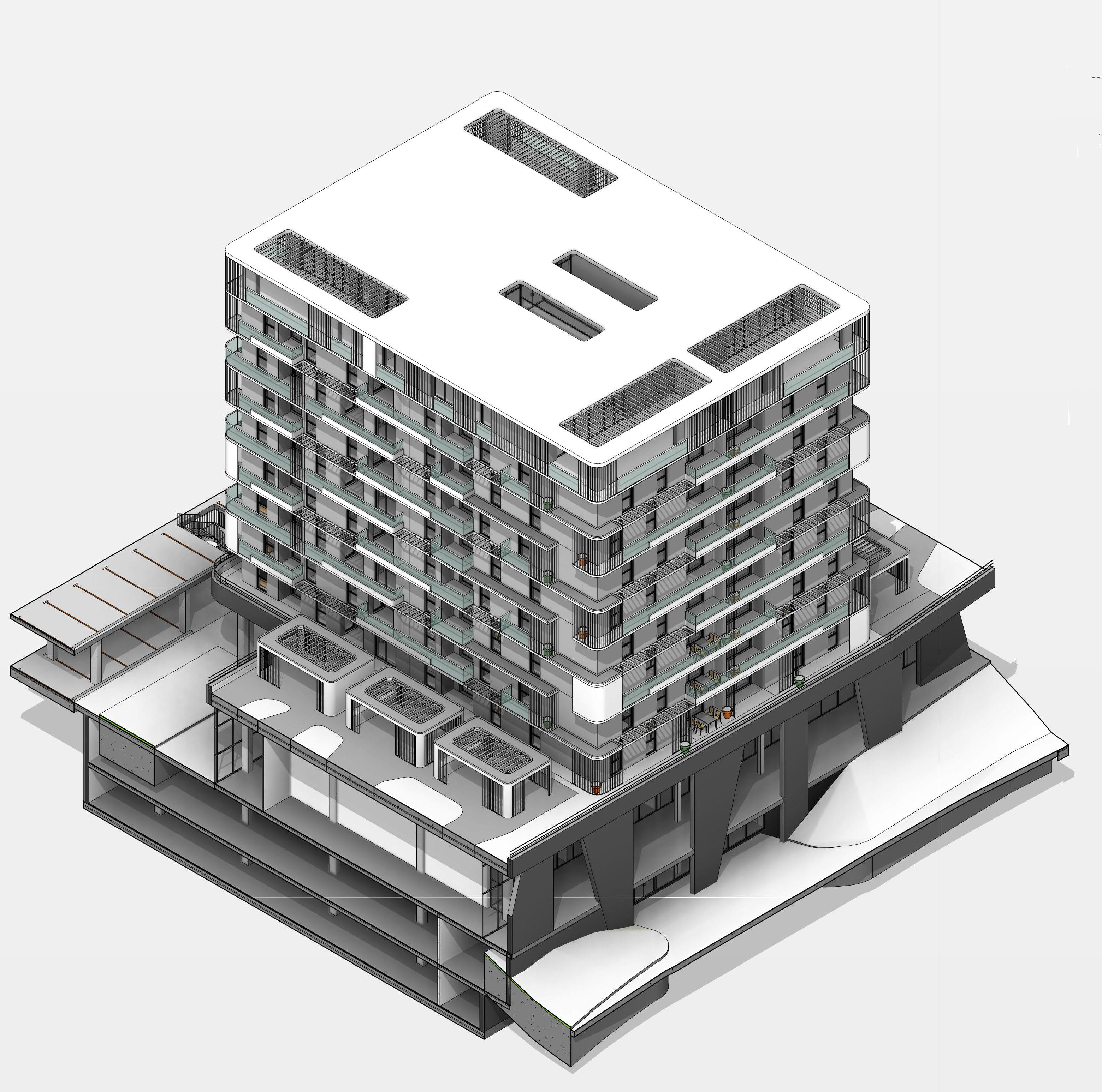 Wohn- und Geschäftsgebäude RIO
